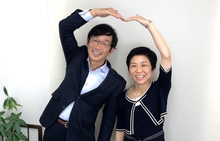 竹内代表と渡辺カウンセラー