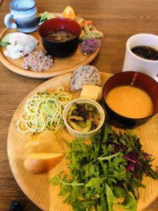 「organic buffetぐるりごはん-和洋折衷」Photo by Yasuyo Watanabe,埼玉県所沢市,November 2018